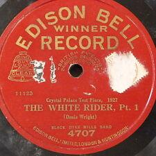 78rpm BLACK DYKE MILLS BAND the white rider , 1927