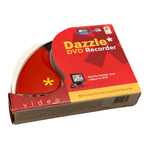 Pinnacle Dazzle DVD Recorder Transfer VHS to DVD - DVC100 Rev:1.1  PC Recorder
