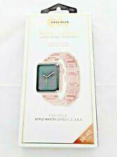 Apple Watchband Series 1-4 Case Mate Metal Linked 38-40mm Rose Gold