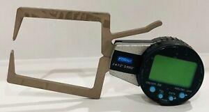 "Fowler 0.4-1.2""/10-30mm External Electronic Caliper Gage 0.0008"" Accuracy"