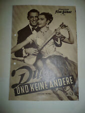 DREAM WIFE, orig German Film program [Cary Grant, Deborah Kerr, Betta St. John]