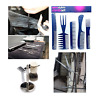 Comb Set Professional High Quality Hair Styling Black Brush Barbers piece Assort