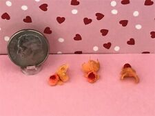 Dollhouse Miniature Fish - 3 Fish in Set - Adorable 1:12 Scale
