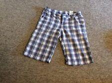 Ladies H&M Size 34 Check Shorts