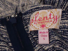 PLENTYbyTRACY REESE BlueStripedStretchStrappy SizeS NWoT