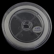 0.6mm Stretch elástica plana Hilo Blanco 75m para la fabricación de joyas alambre
