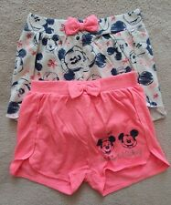 2pk Girl's Shorts - Minnie Mouse - 6 Years