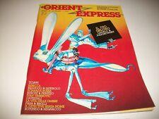 RIVISTA ORIENT EXPRESS N.19.L'ISOLA TROVATA.MARZO 1984.TOPPI/RONNIE CUTRONE&C