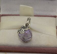 AUTHENTIC PANDORA Morning butterfly, lavender & clear cz, 791258LCZ   #554