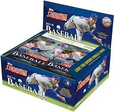 2019 Topps Stadium Club Baseball Factory Sealed 24 Pack Retail Box