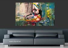 Großes Acryl Gemälde XXL Modern CHP1424 Handgemalt Bild Kunst Abstrakt 160x100cm