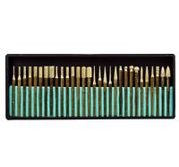 Titanium-Coated Diamond Burrs Grit For Dremel 395 4200 7700 3000 200 Drill Press