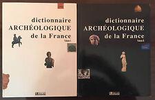 Dictionnaire archéologique de la France - 2 volumes