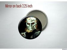 Jason Vorhees Friday the 13th ten Jason X Kane Hodder Pocket /Purse Mirror