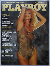 Playboy - D 8/1983, Sybil Danning, James Bond Girls, Peter Hofmann, Sunnyi Melle