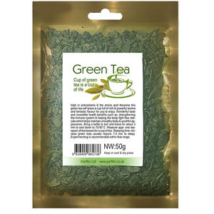 Green Tea Loose Leaf 50g / Weight Loss / Antioxidant / Reduce Cholesterol