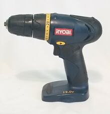 "Ryobi HP412 12 Volt Cordless 3/8"" Drill Tool Only Electric Screwdriver"