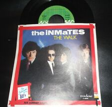 "THE INMATES The Walk / Talkin Woman Pub Rock Power Pop 7"" 45 Giri Eddie Hot Rods"