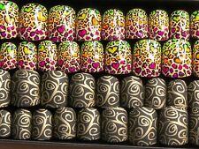 2 Sets Extra Short Square Nail Art Matte Press On Fake False Glue On Nails