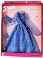 Barbie Fashion Avenue Dazzle Styles Night At The Opera Blue Gown Fashion Pack ..