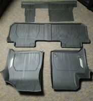 2018-2020 Chevy Traverse 1st, 2nd & 3rd Row All Weather Floor Liners Bench Seat
