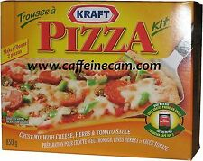 Kraft Pizza Kit, 850g/30oz., 4 Kits = 8 Pizzas {Imported from Canada}