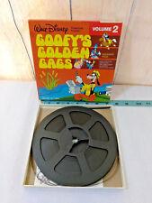 Vintage Walt Disney Goofy's Golden Gags Volume 2  8MM Film Reel Ships FREE