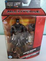 """Batman, DC Comics Multiverse Justice League Movie Exclusive 6"""" Action Figure NEW"""
