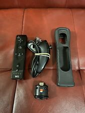 OEM Nintendo Wii Remote Controller With Motion Plus Adapter And Nunchuck