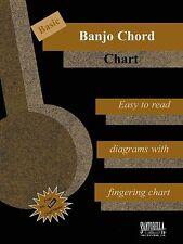 Basic Banjo Chord Chart By Tina Tomlins