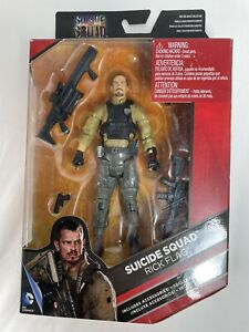 DC Comics Multiverse RICK FLAG Action Figure Suicide Squad movie 6 inches NEW