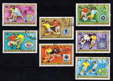 NL1376.Mongolië 1978. Wereldkampioenschap Voetbal. Gestempelde serie