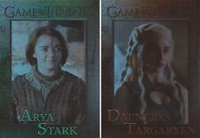 Game of Thrones Season 4 - 100 Card Parallel Foil Set