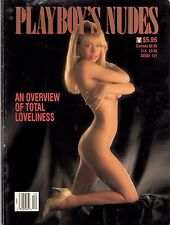 Playboy special edition Nudes 1991 VERY YOUNG Pamela Anderson on Cover & Inside