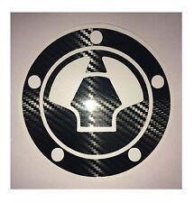 KAWASAKI NINJA ZX-6R 2007-2013 Carbon Fiber Effect Fuel Cap Protector Cover