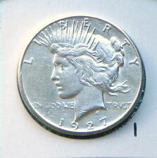 1927-S Error Planchet Flaw Lamination Peace Silver Dollar  $1 Lot #1