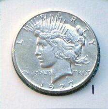 1927-S Error Planchet Flaw Lamination Peace Silver Dollar  $1 Lot #1