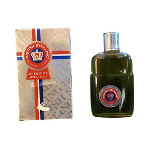 British Sterling After Shave 3.8 oz MADE IN THE USA (74001) New Old Stock 2005