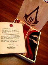 Assassins Creed III 3 Press Kit Flag Letter From Ubisoft
