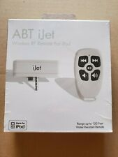 ABT iJet Wireless RF Remote Made For iPod Brand New Sealed
