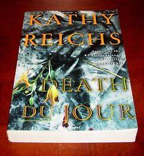 Death Du Jour, Kathy Reichs **1st Ed Uncorrected Proof **Advance Reader ARC