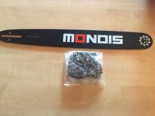 "Brand New 12"" MONDIS Chainsaw Bar & Chain Combo  3/8"" 