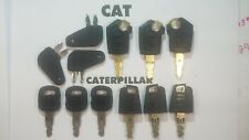 12 Master Cat Keys Caterpillar Equipment Ignition Key CAT 5P8500 Excavator Dozer