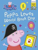 Peppa Pig: Peppa Loves World Book Day 2017 NEW (Paperback)-9780141378312