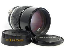 AIS de Nikon 135MM F2.8 Ai-s primer Lente Excelente Estado su uso con DSLR