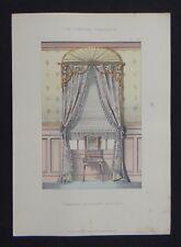 LA TENTURE FRANÇAISE 1905 - Fenêtre moderne anglais - décoration tapisserie 94