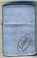 """Zippo Lighter 1960 """"Lord bonded rubber"""""""