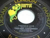 Pop UNPLAYED NM! 45 ENGELBERT HUMPERDINCK Precious Love on Parrot