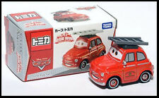 Tomica Disney CARS 2 RESCUE GO GO Luigi Fiat Fire Engines Tomy DIECAST TAKARA