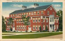 Bradford Junior College, Hassletine Hall, Bradford,  Massachusetts 1943 Linen